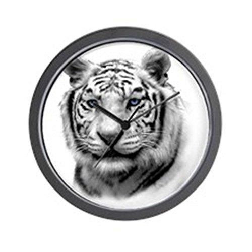(CafePress - WHITE TIGER Wall Clock - Unique Decorative 10