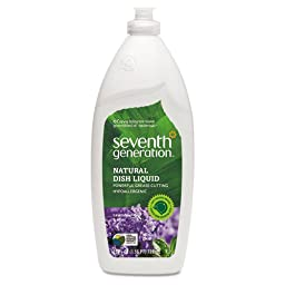 SEV22734 - Natural Dishwashing Liquid, Lavender Floral amp; Mint, 25 Oz. Bottle