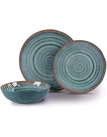 ded2c1065a8 Kampa Terracotta Artisan 12-Piece Melamine Dinner Picnicware Set