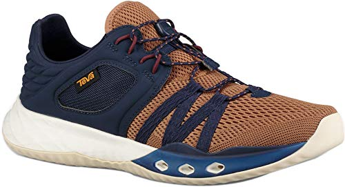 Teva Mens Terra-Float Churn Sneaker, Pecan, Size 11.5