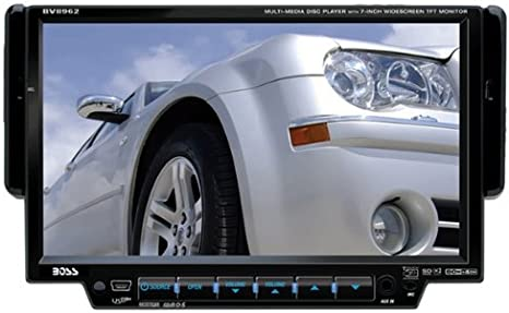Amazon.com: BOSS Audio Systems BV8962 In-Dash 7-Inch DVD MP3 CD Widescreen  Receiver with USB, SD Card, and Front Panel AUX Input - Discontinued by  Manufacturer: Car ElectronicsAmazon.com