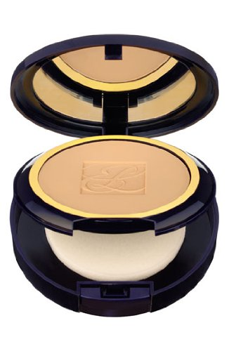 Cool Face Makeup (Estee Lauder Double Wear Stay in Place Powder Makeup - 1C1 Cool Bone)