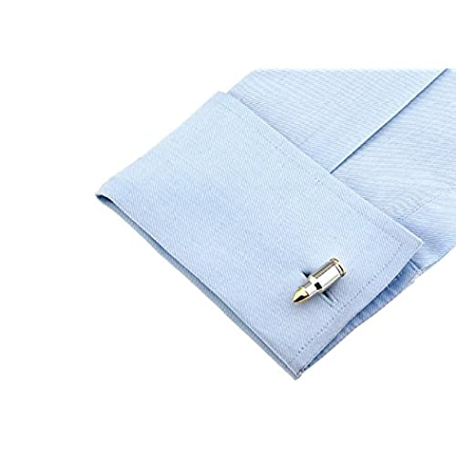 Bullet Shell Casing Pair Cufflinks