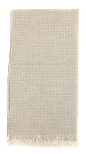 new-cesare-attolini-beige-cotton-blend-scarf