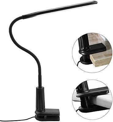 AuyKoo Lámpara Escritorio 36 LED con Regulable 360 ° Cuello ...