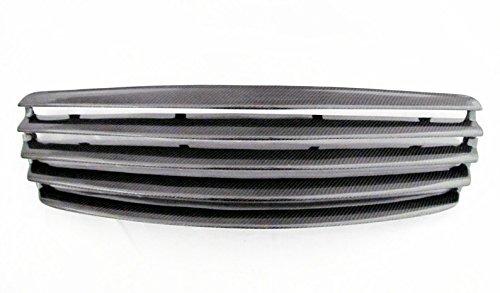 03 04 05 06 MERCEDES BENZ E CLASS E280 E320 E350 E500 W211 5 FIN CARBON FIBER FRONT GRILLE GRILL by CTG (Image #5)
