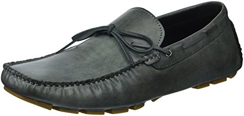 Unlisted by Kenneth Cole Men's Hope Driver Driving Style Loafer, Dark Grey, 10.5 M US