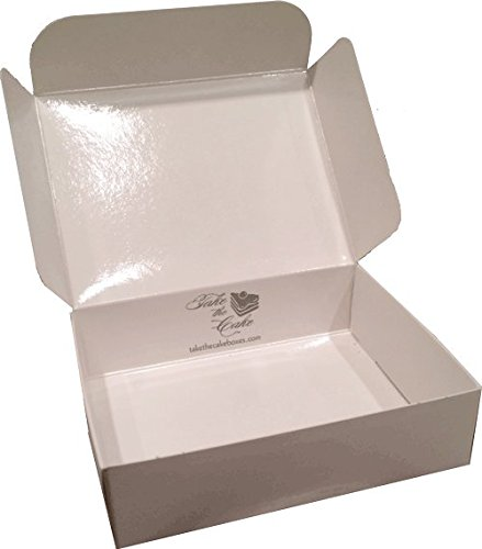 Food Service Approved Cake Slice Boxes for Slices measuring up to 4-1/2'' x 3-1/2'' x 1-1/4''