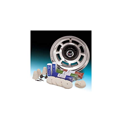 Eckler's Premier Quality Products 57-287899 Aluminum Wheel Buffing/Smoothing Kit by Premier Quality Products (Image #1)