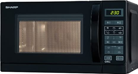 Sharp R642INW Microondas con grill, 20 l, Negro: Amazon.es ...