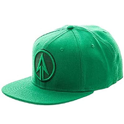Green Arrow Logo Solid Green Snapback from BioWorld