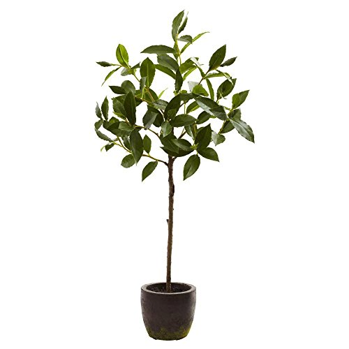 Nearly Natural 29 in. Ball Topiary with Decorative Planter by Nearly Natural