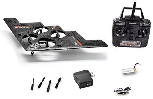 Rc Remote Control Stealth Drone 4 Channel Quad Copter (Quadcopter Remote Control compare prices)