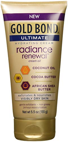Gold Bond Ultimate Radiance Renewal Cream, 5.5 Ounce (Pack of 3)