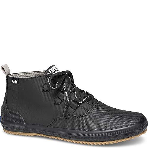Keds Women's Scout Chukka Splash Twill WX Sneaker, Black, 9 M US