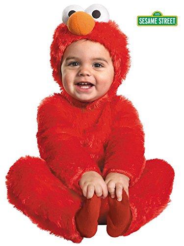 Elmo Comfy Fur Costume - Toddler Small