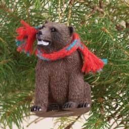Grizzly Bear Ornament - Conversation Concepts Bear Grizzly Original Ornament
