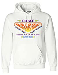 Reality Glitch Palace Arcade Men's Hoodie - Inspired by Stranger Things Season 2
