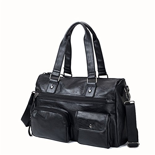 Bag Gym Men's Short Multifunctional Shoulder Holdall Diagonal Package Lightweight For Big distance Sports Handbag Tote Leather Travel Trip Business Casual Jxth tOYqwHq