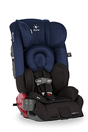 Diono radian rXT All-in-One Convertible Car Seat- Black Cobalt ...