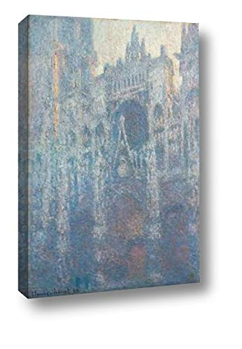 The Portal of Rouen Cathedral in Morning Light by Claude Monet - 12
