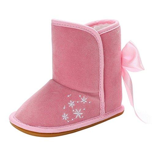 Hunpta Mädchen Mode Niedlichen Kleinkind / Kleinkinder Winter Schneeschuhe Rosa