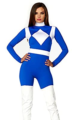 Forplay Women's Dominance Action Figure Catsuit and Belt