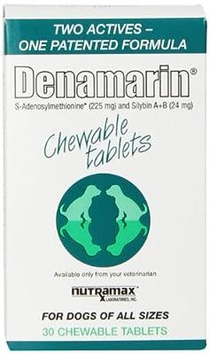 NutraMax Denamarin Chew Tab - Dogs All Sizes - 225 Mg