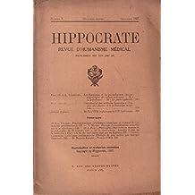 Hippocrate , revue d'humanisme médical n° 9 / 1937 / brunet: contribution des médecins byzantins a l'histoire des plantes et à la botanique médicale