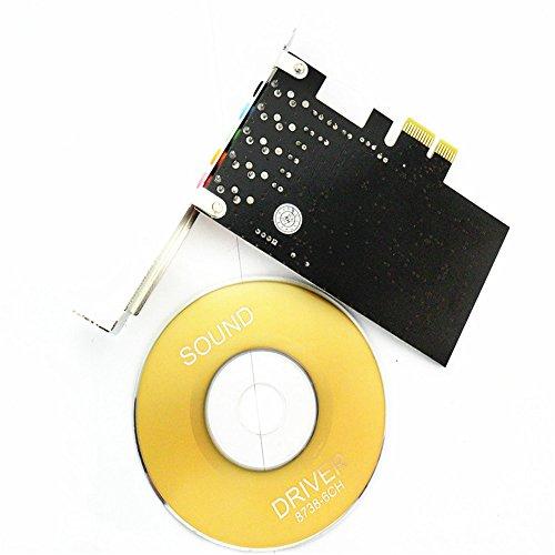 Allytech PCI Express Pci-e 5.1ch 6channels Digital Cmi8738 32-bit 3D Audio Sound Card SFF by Allytech (Image #1)