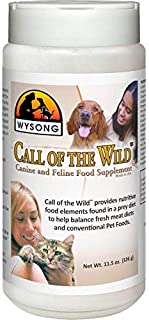 product image for Wysong Call of The Wild - Canine/Feline Food Supplement - 11 Ounce Bottle