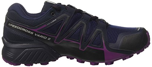 Salomon Speedcross Vario 2 GTX W, Zapatillas de Running Para Mujer Violeta (Astral Aura/Navy Blazer/Grape Juice)
