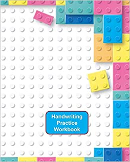 Handwriting Practice Workbook Lego Bricks Cover Letter