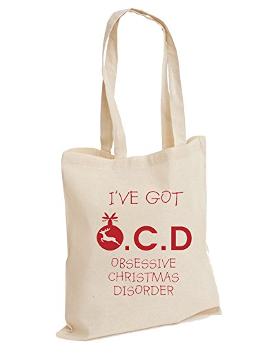 Tote Got Obsessive Animal Christmas Cotton Unisex OCD Bag Disorder Natural Filthy I've RFzqn6waw