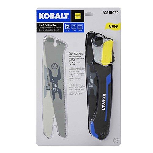 Kobalt 3 in 1 folding saw