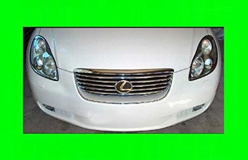 312 MOTORING fits 2002-2009 LEXUS SC430 SC 430 CHROME GRILL GRILLE KIT 2003 2004 2005 2006 2007 2008 02 03 04 05 06 07 08 09