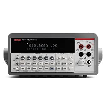 amazon com keithley 2100 120 digital multimeter set to 120v 6 1 2 rh amazon com keithley 2000 multimeter service manual keithley model 2000 multimeter calibration manual