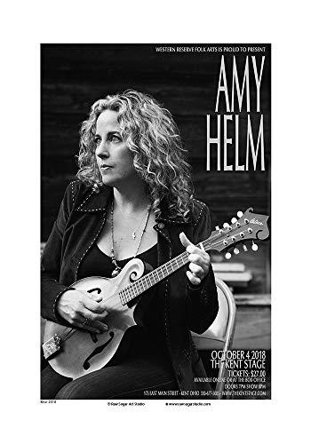 Raw Sugar Art Studio Amy Helm 2018 Kent Ohio Concert Poster