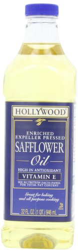 - Hollywood Safflower Oil, 32 Ounce Bottles (Pack of 3)