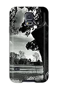 DeirdreAmaya Case Cover For Galaxy S5 - Retailer Packaging Bike By A Tree Protective Case