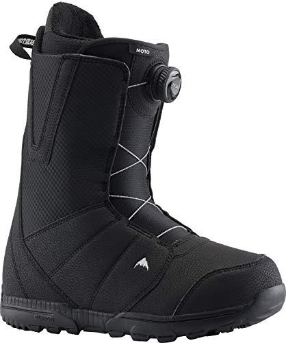 Burton Moto BOA Snowboard Boots Mens Sz 10 Black