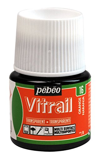 Pebeo Vitrail, Stained Glass Effect Paint, 45 ml Bottle - ()