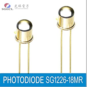PHOTODIODE, Silicon PIN Photodiodes, 920nm, 400-1100nm, 2-Pin, Photoelectric Detector: Amazon.com: Industrial & Scientific