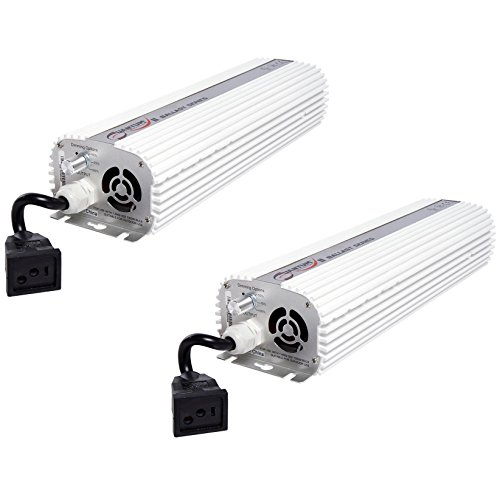 (2) QUANTUM 1000W Watt HPS & MH Dimmable Digital Grow Light Ballasts | QT1000 by Quantum
