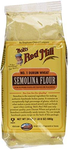 Bob's Red Mill Flour Semolina, 24-ounces (Pack of4)