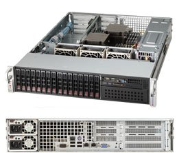 Supermicro SuperChassis 2U Rackmount Server Chassis CSE-213A-R740WB Black