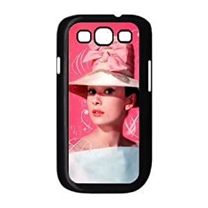 WJHSSB Phone Case Audrey Hepburn Hard Back Case Cover For Samsung Galaxy S3 I9300
