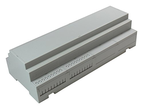 (Plastic Enclosure, IP20, DIN Rail, Kit, DIN Rail, Polycarbonate, IP20, 90 mm, 212 mm)