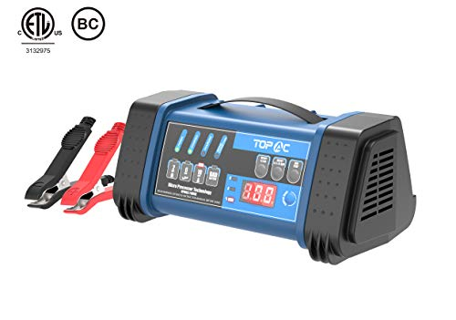 TOPAC 12 Volt 2/6/10A, 24 Volt 2/6A Smart Car Battery Charger ()