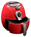 Avalon Bay AB-Airfryer100R Air Fryer, 3.7 Quarts, Red